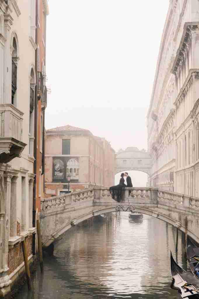 Venice Elopement Photographer Videography Videographer Misty Venice Black dress