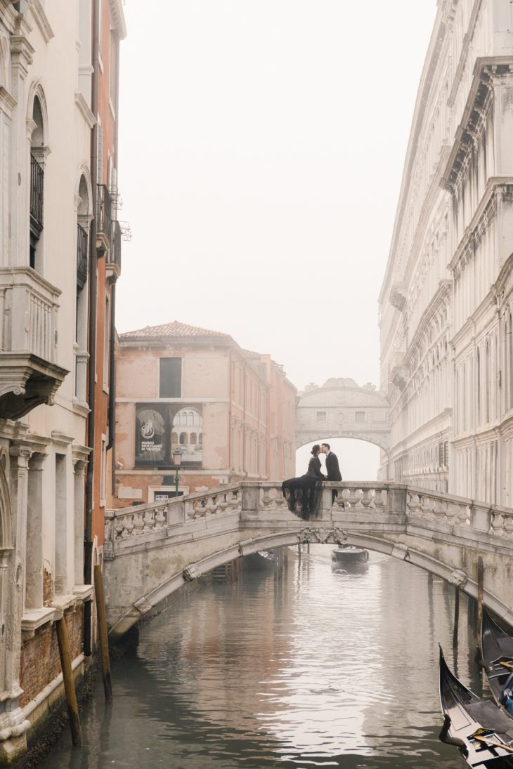 Venice Elopement Photographer Winter Elopement Destination Wedding Elope in Italy