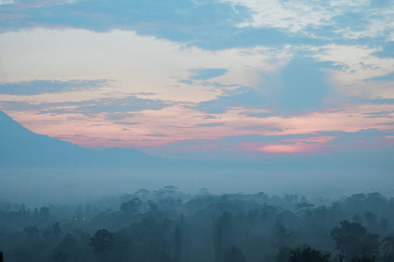 Borobudur Indonesia At Sunrise Picture by Camilla M Wedding Elopement Photographer