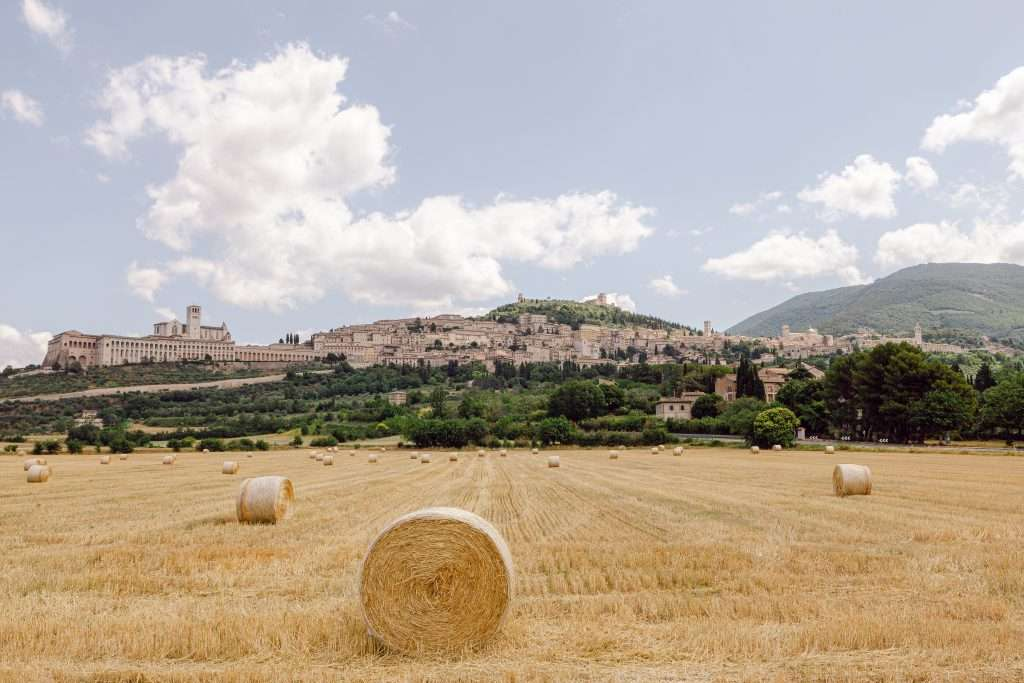 Tuscan countryside Destination Wedding Assisi, Italy