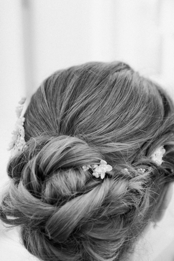 Wedding Hairstyle Elegant Countryside Wedding in the North of Italy, Treviso Venice
