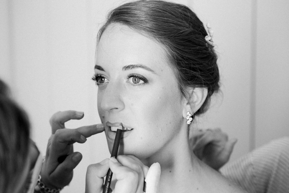 Wedding Bridal Make up Elegant Countryside Wedding in the North of Italy, Treviso Venice